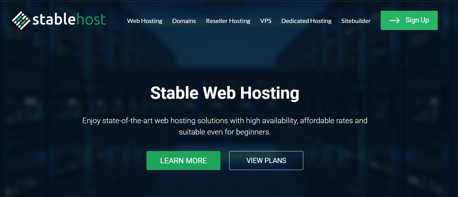 StableHost Review- Affordable Web Hosting