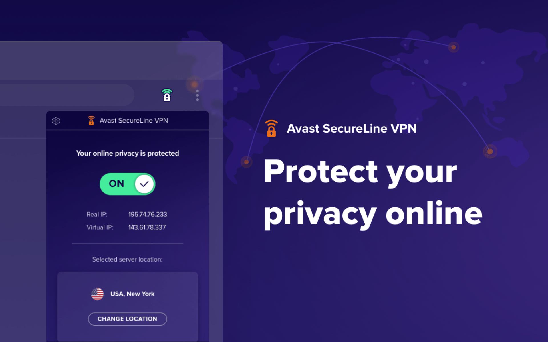 avast security line