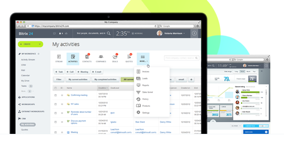 Bitrix24 Review- Free CRM With Invoicing Call Center And Email Marketing