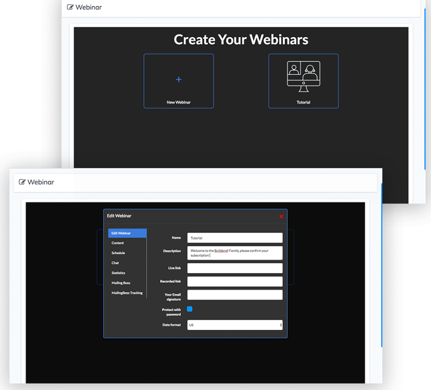 Builderall Review - Create Your Webinars