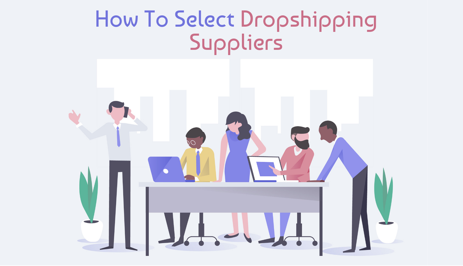 How To Select Dropshipping Suppliers Banner