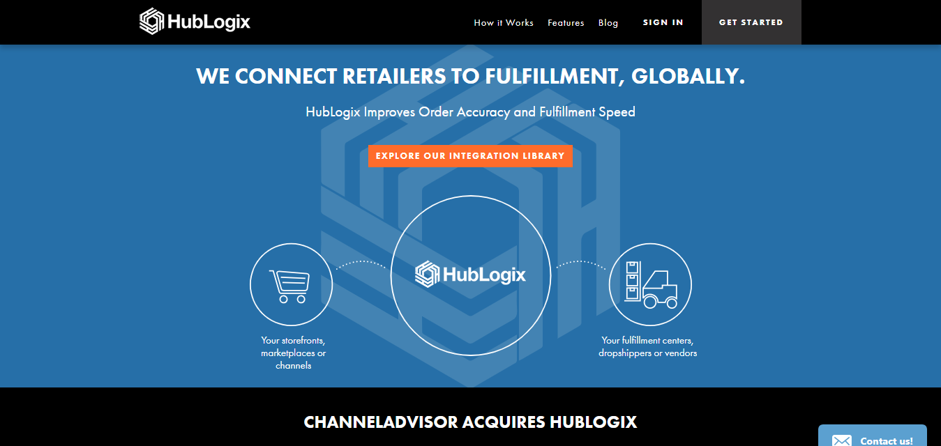 HubLogix dropshipping automation tool