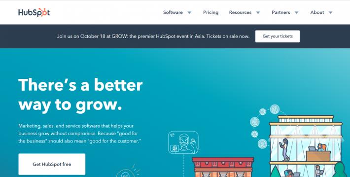 HubSpot Review- sender.net alternatives