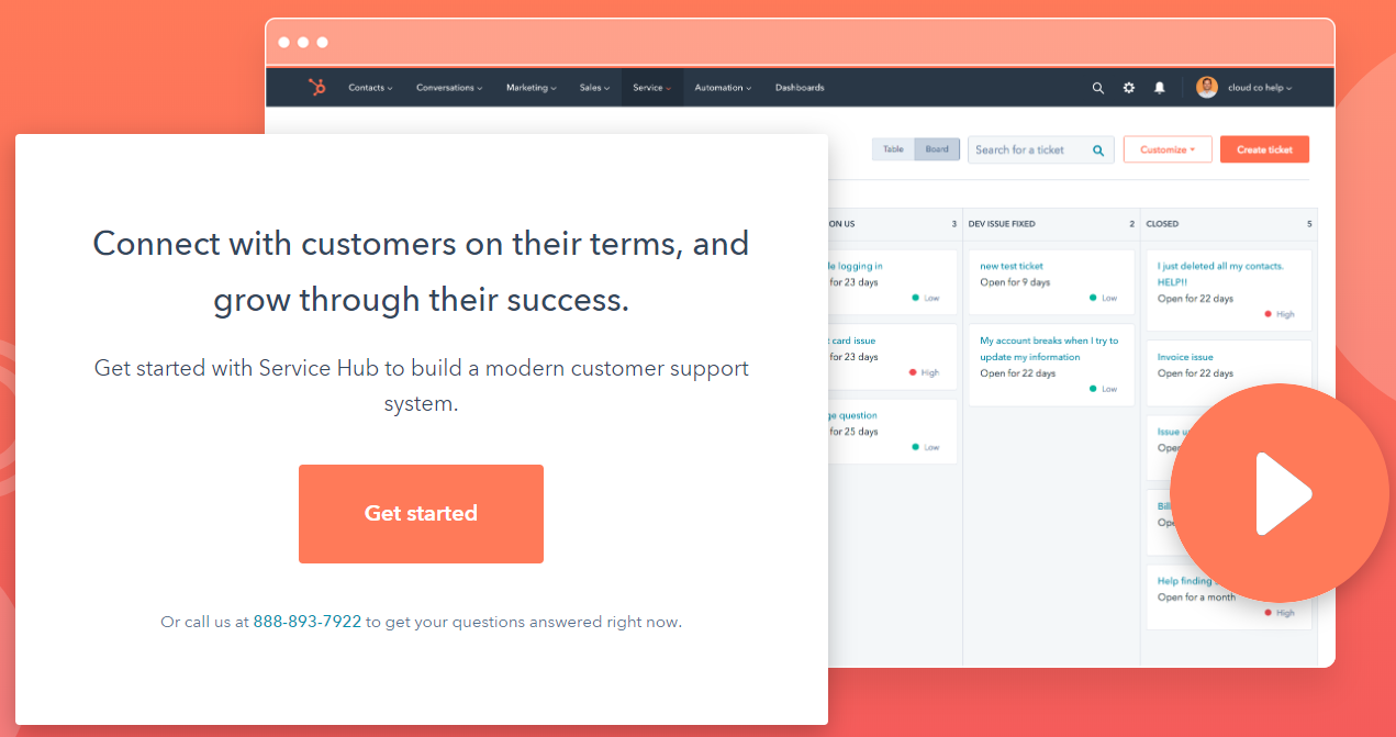 HubSpot Review- Service Hub Overview