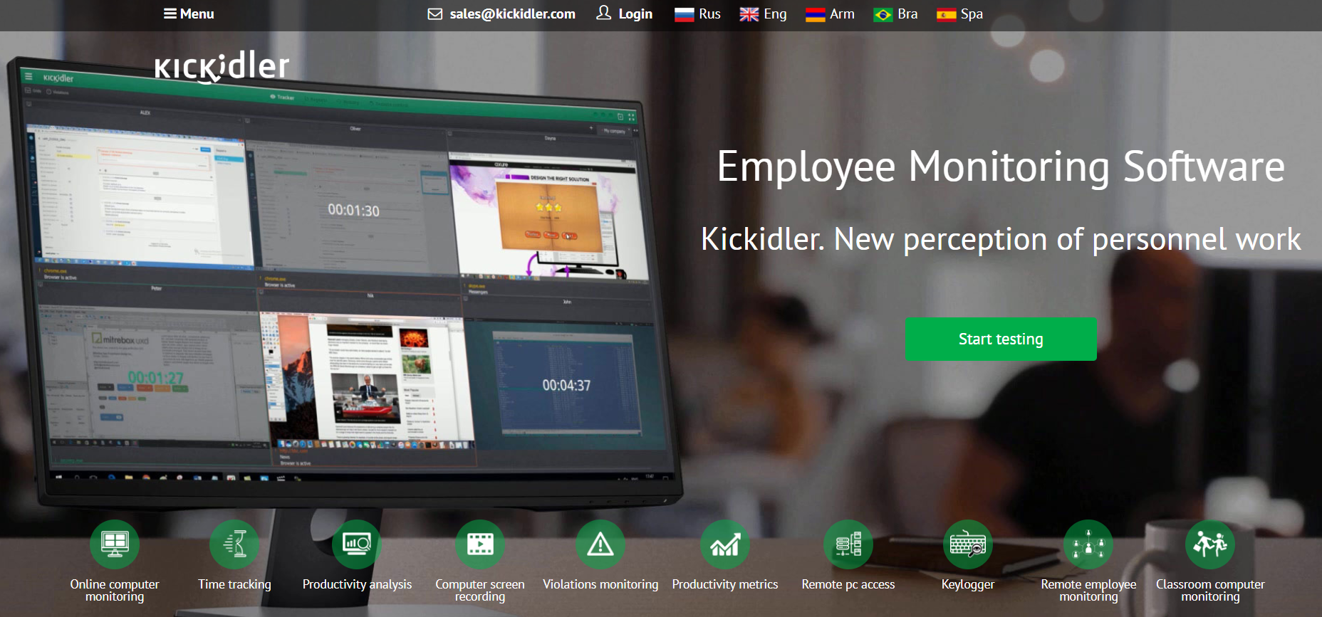 Kickidler Review- Legit Employee Monitoring Software