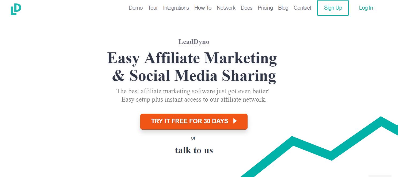 LeadDyno - Referral Program Software