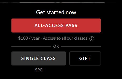 Masterclass All Access Pass Discount Coupon