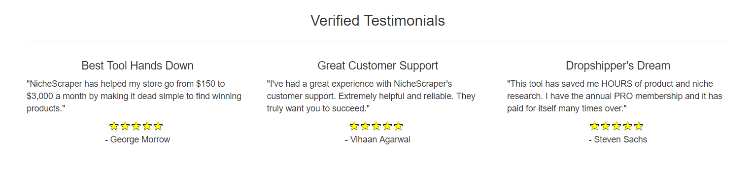 Niche Scraper Review- Verified Testimonial