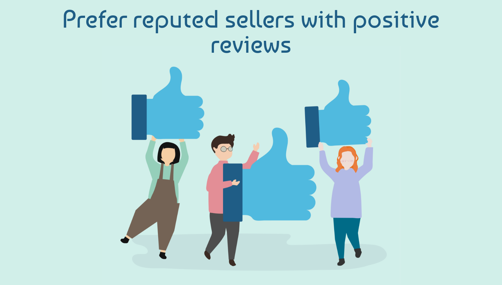 Prefer reputed sellers with positive reviews- How To Select Best Dropshipping Suppliers