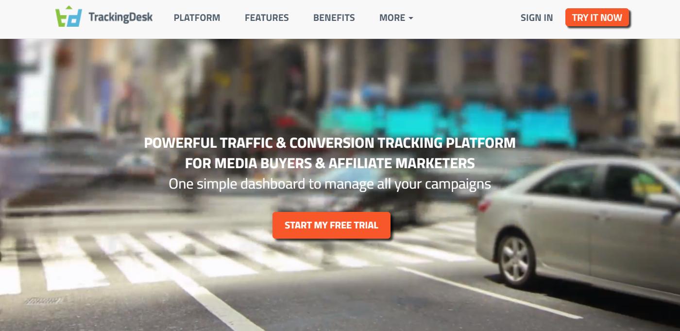 TrackingDesk- Best Thrive Affiliate Tracker Alternatives