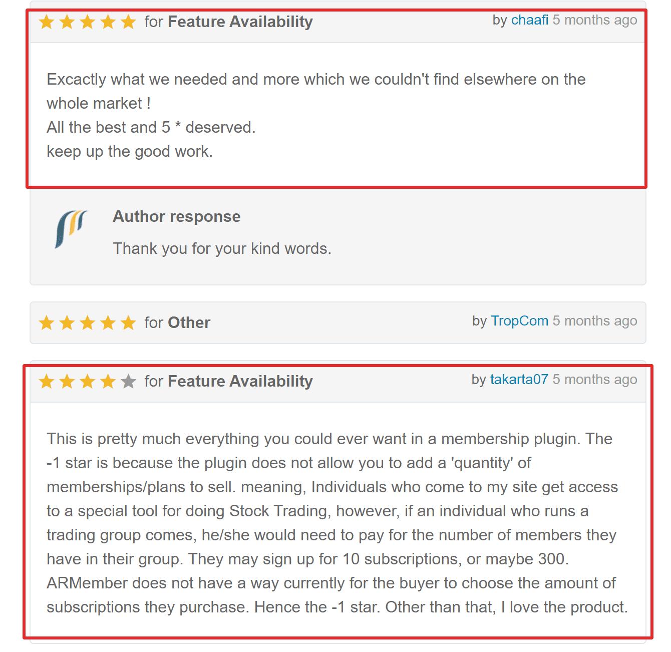 ARmember plugin WP review