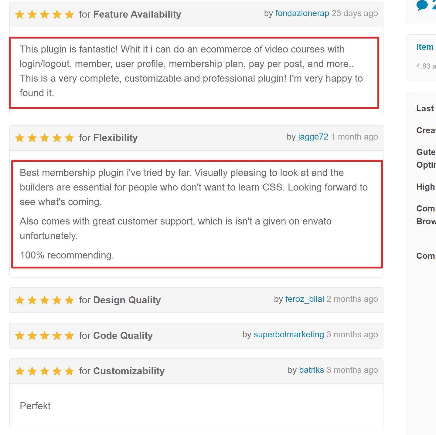 ARmember plugin WP reviews
