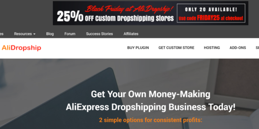 Alidropship black friday sale discount coupon
