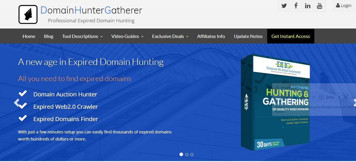 Best Domain Hunter Gatherer sales