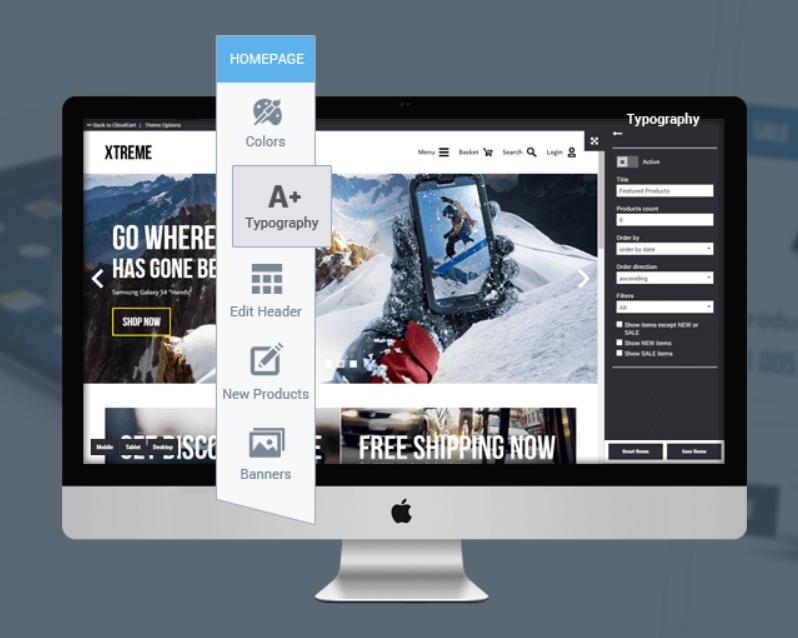 CloudCart Review- Customizable Designs