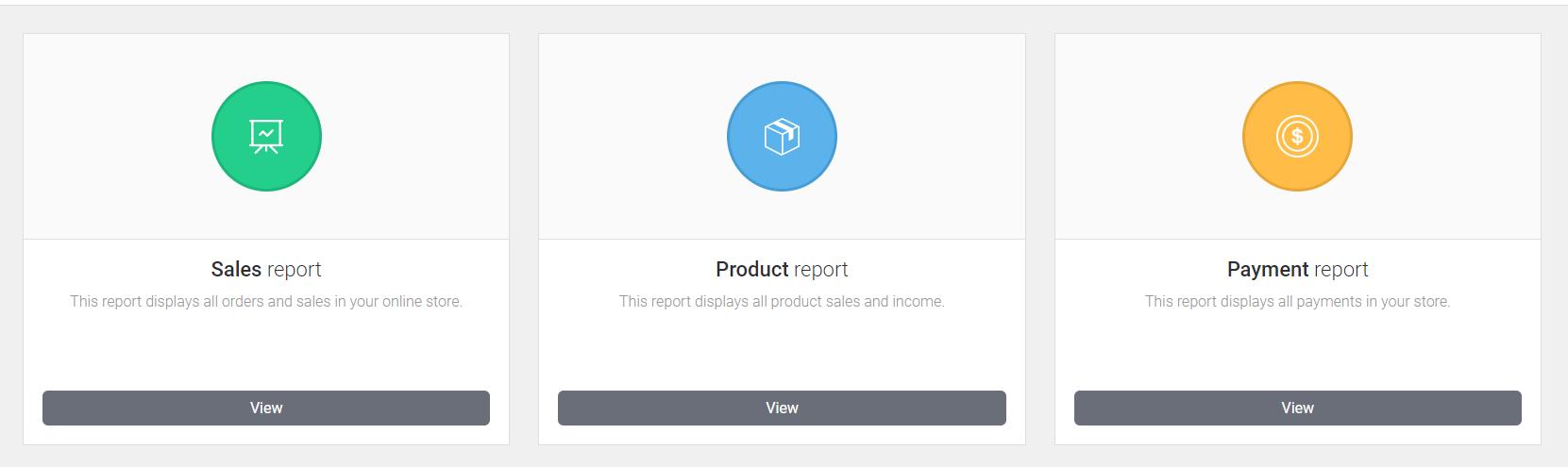 CloudCart Review- Get Reports