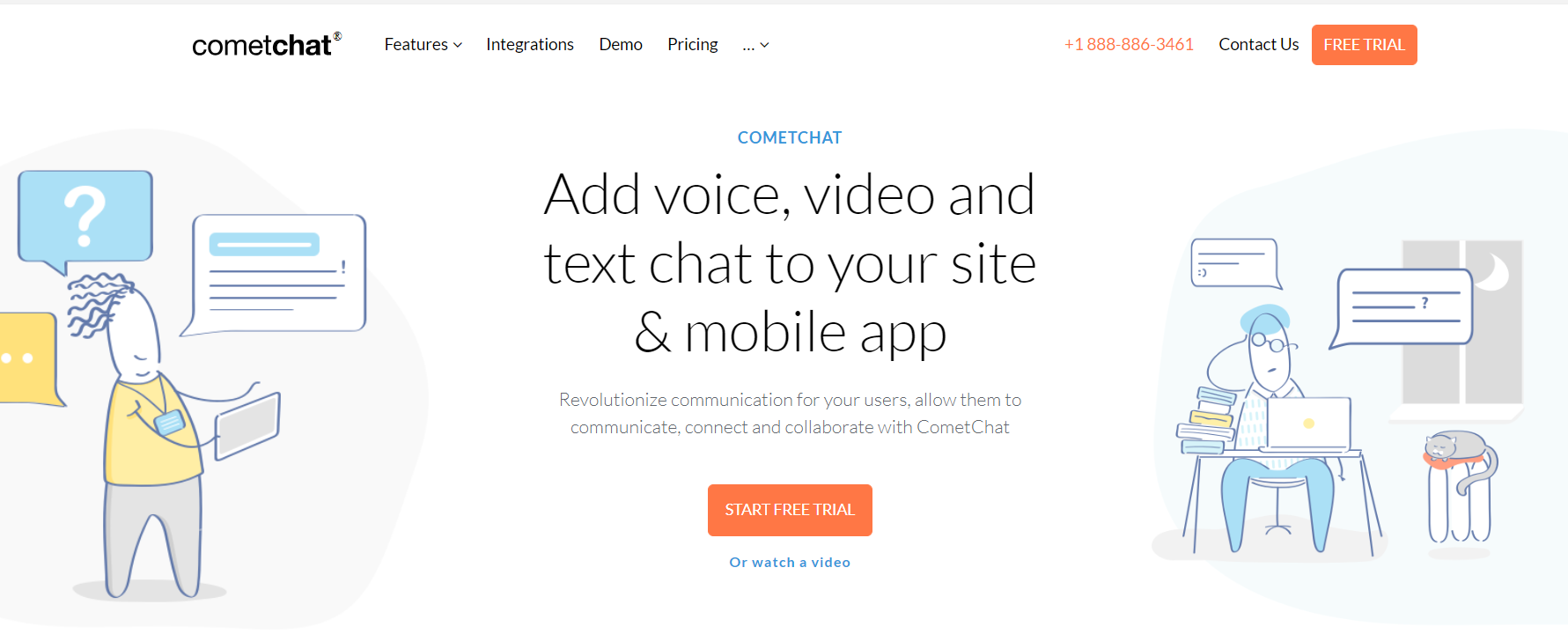 CometChat Black Friday Sale- Text Chat on Web Mobile Apps