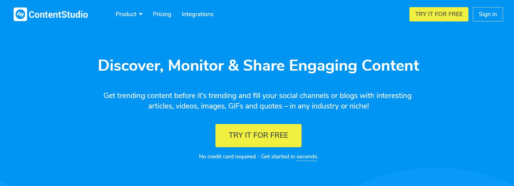 ContentStudio Review- Social Media Management Platform