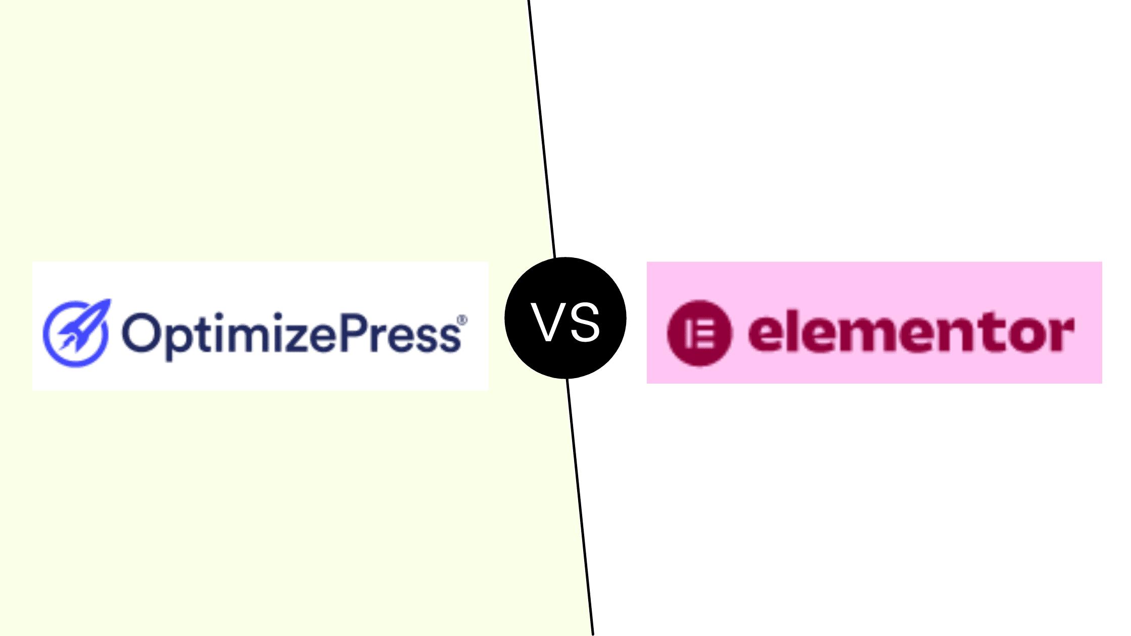 Optimizepress vs Elementor