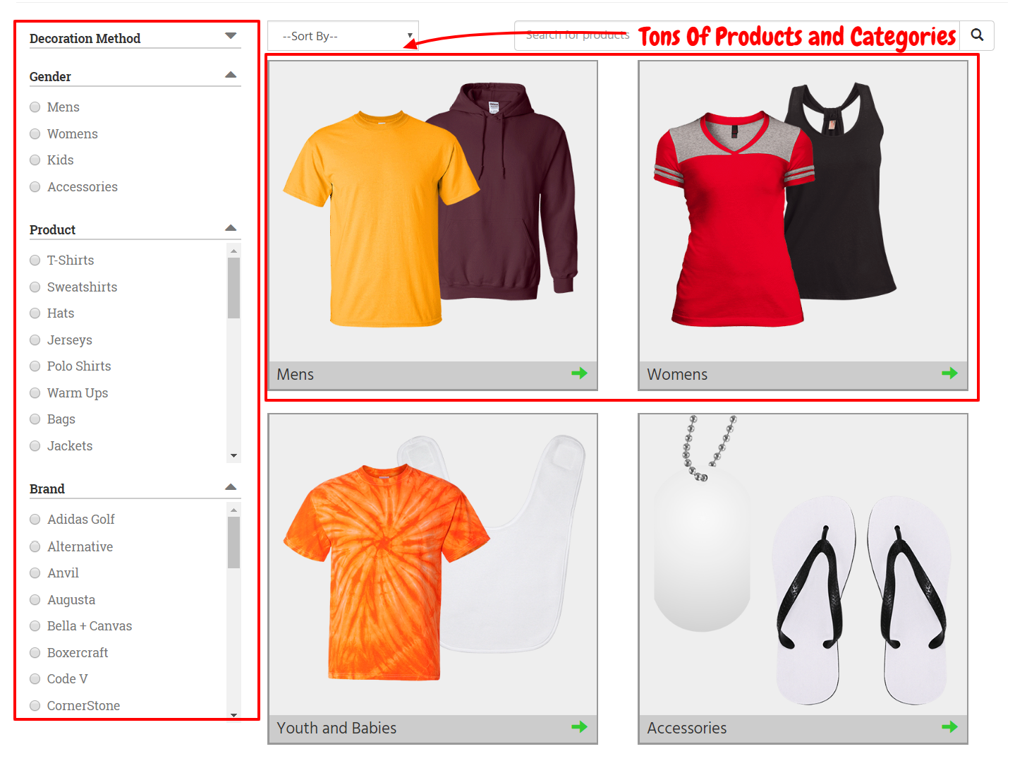Custom Cat Review- Product Catalog