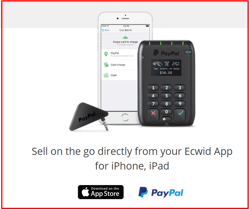 Ecwid Review- POS Functionality