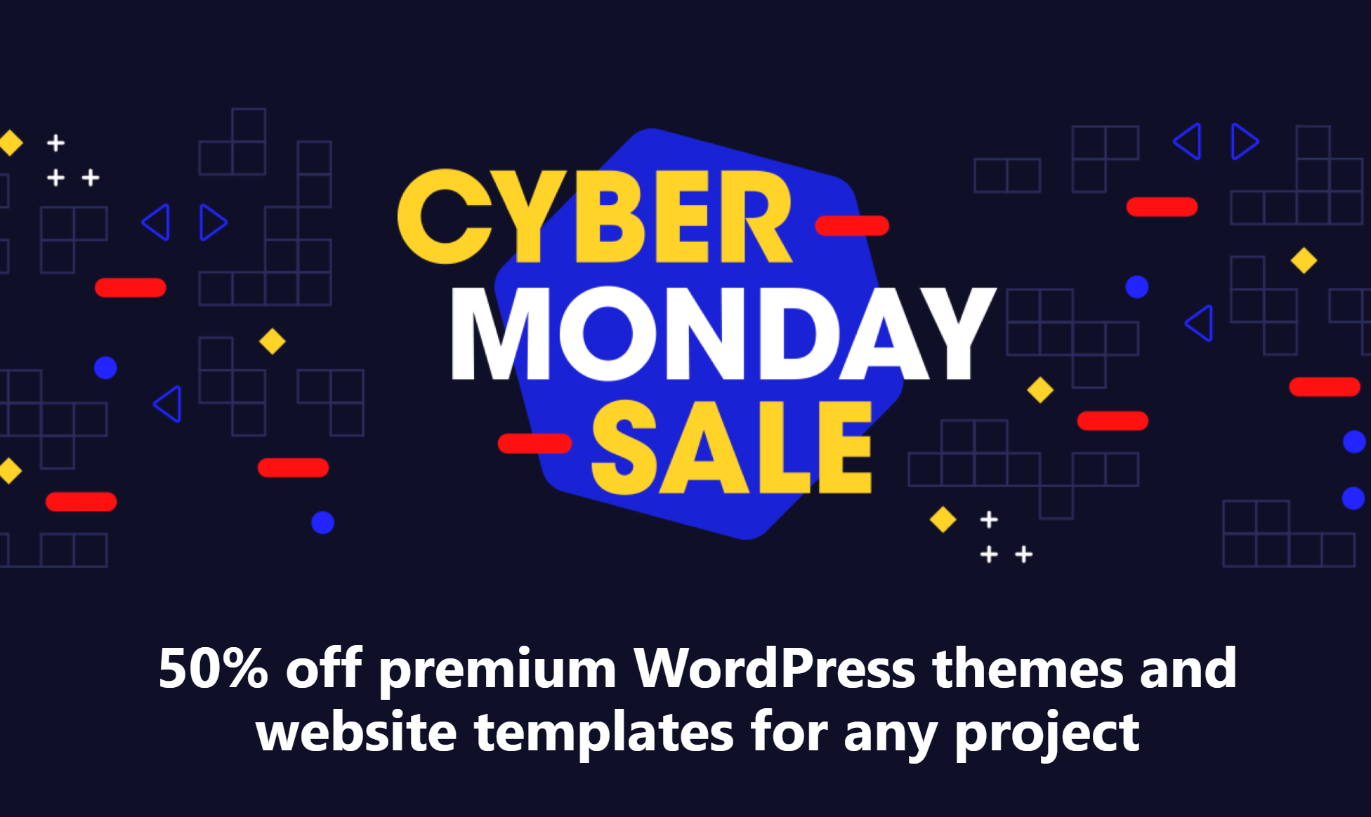 Envato Themeforest Black Friday Sale - 50% off premium