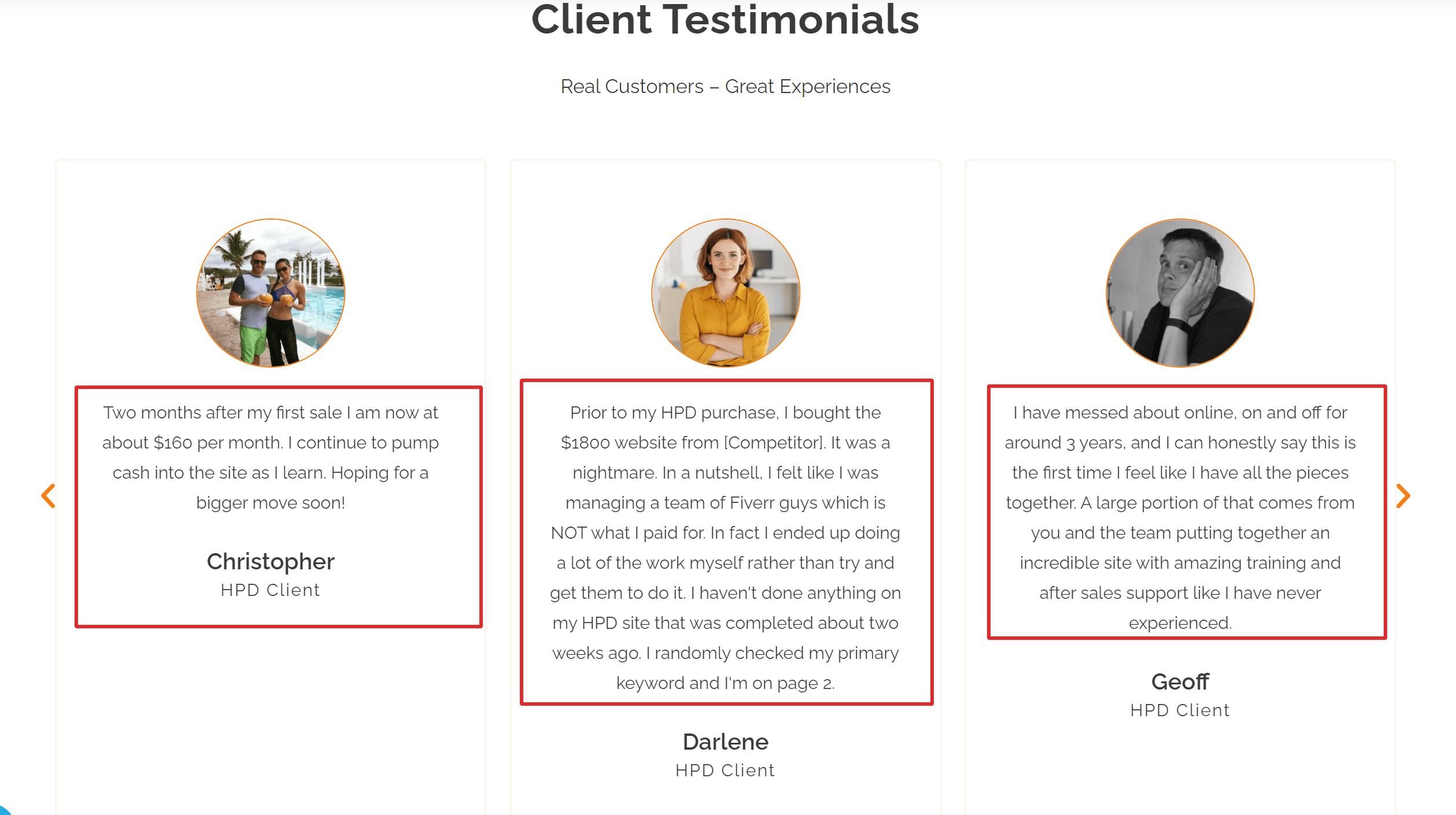 Human Proof Designs Customers