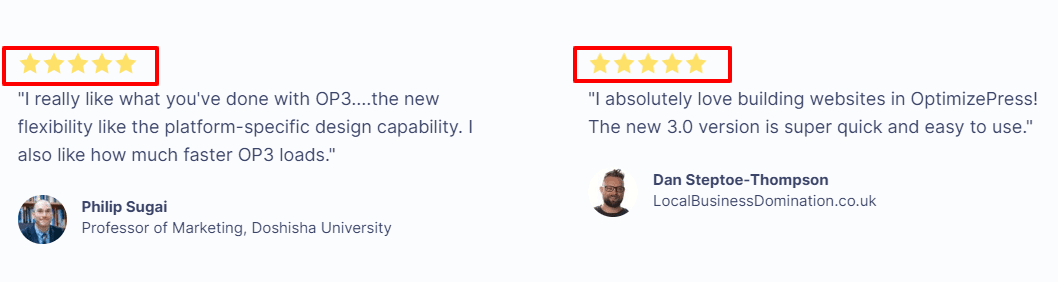 OptimizePress -Reviews