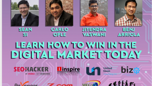 Jitendra Vaswani At Panel Discussion at Philippines Digital Marketing Event