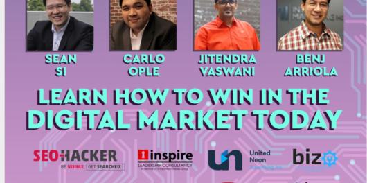 Jitendra Vaswani At Panel Discussion at Philippines Digital Marketing Event