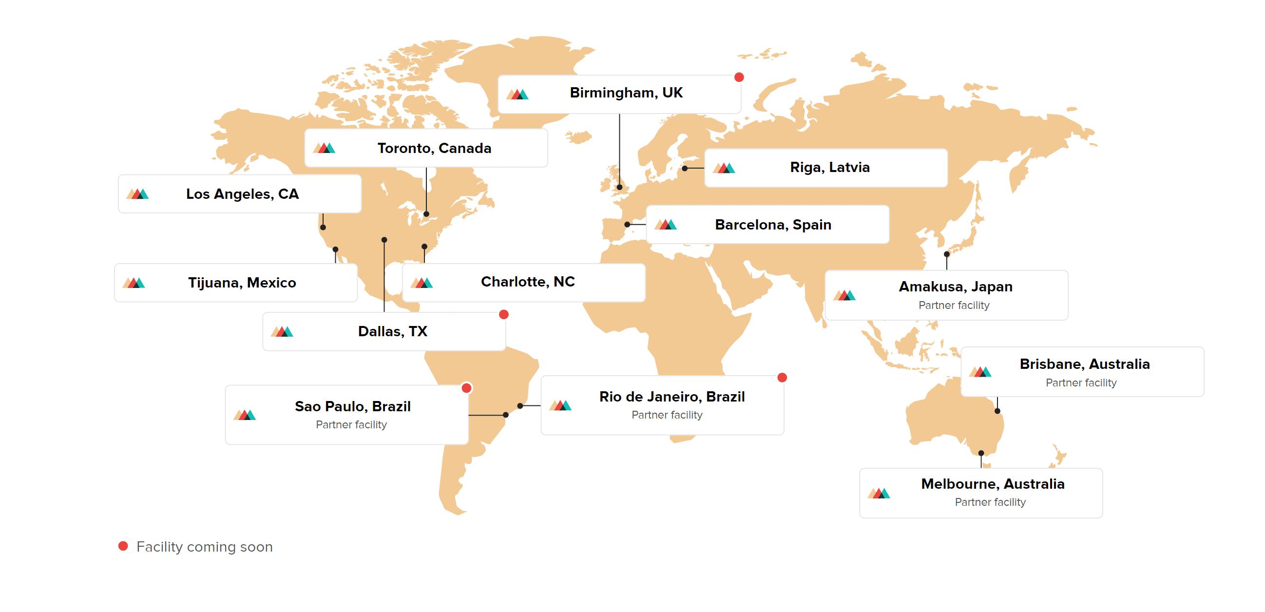 Printful order location