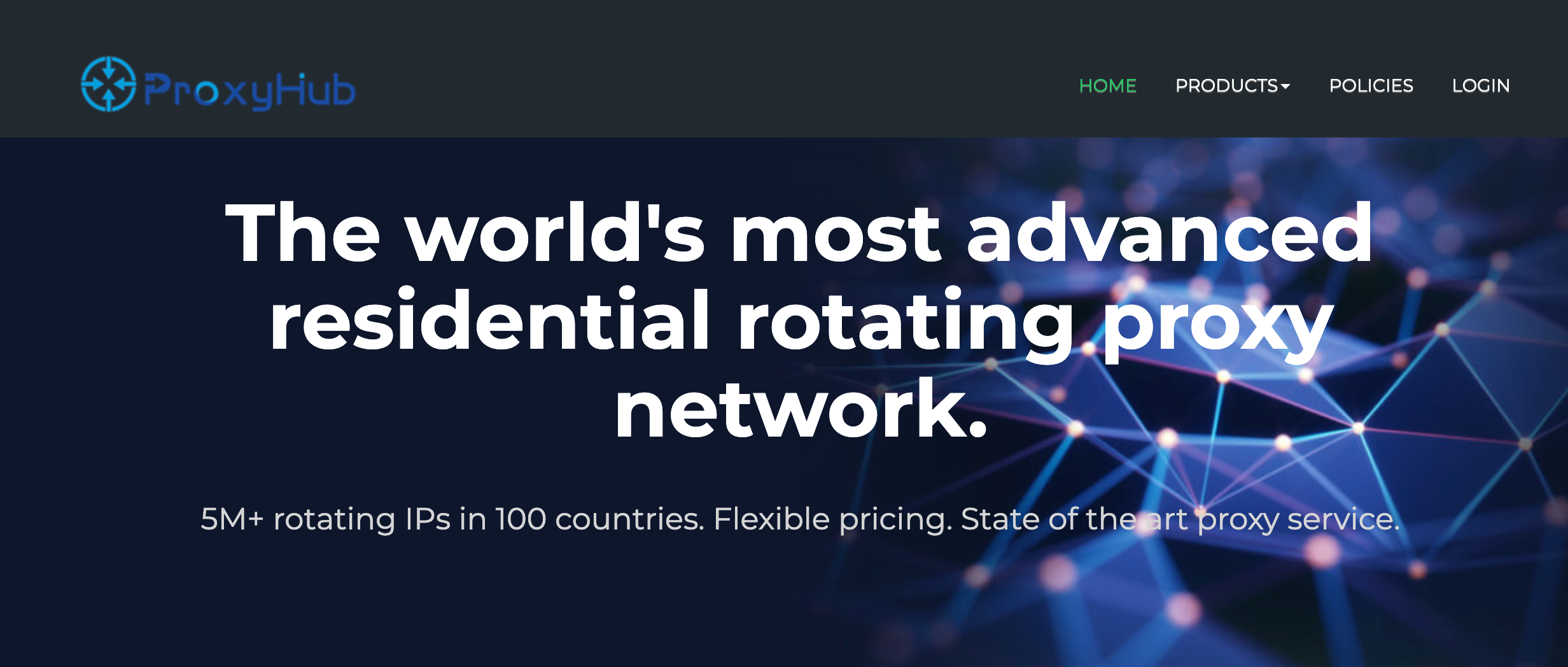 Best Black Friday ProxyHub Deal- Advanced Residential Proxy Network