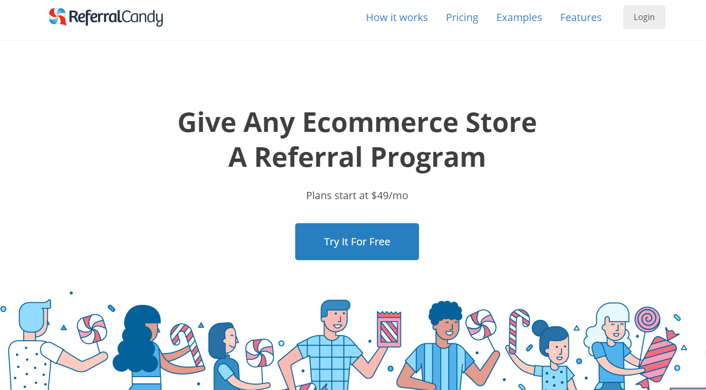 ReferralCandy- Customer Referral Program Software
