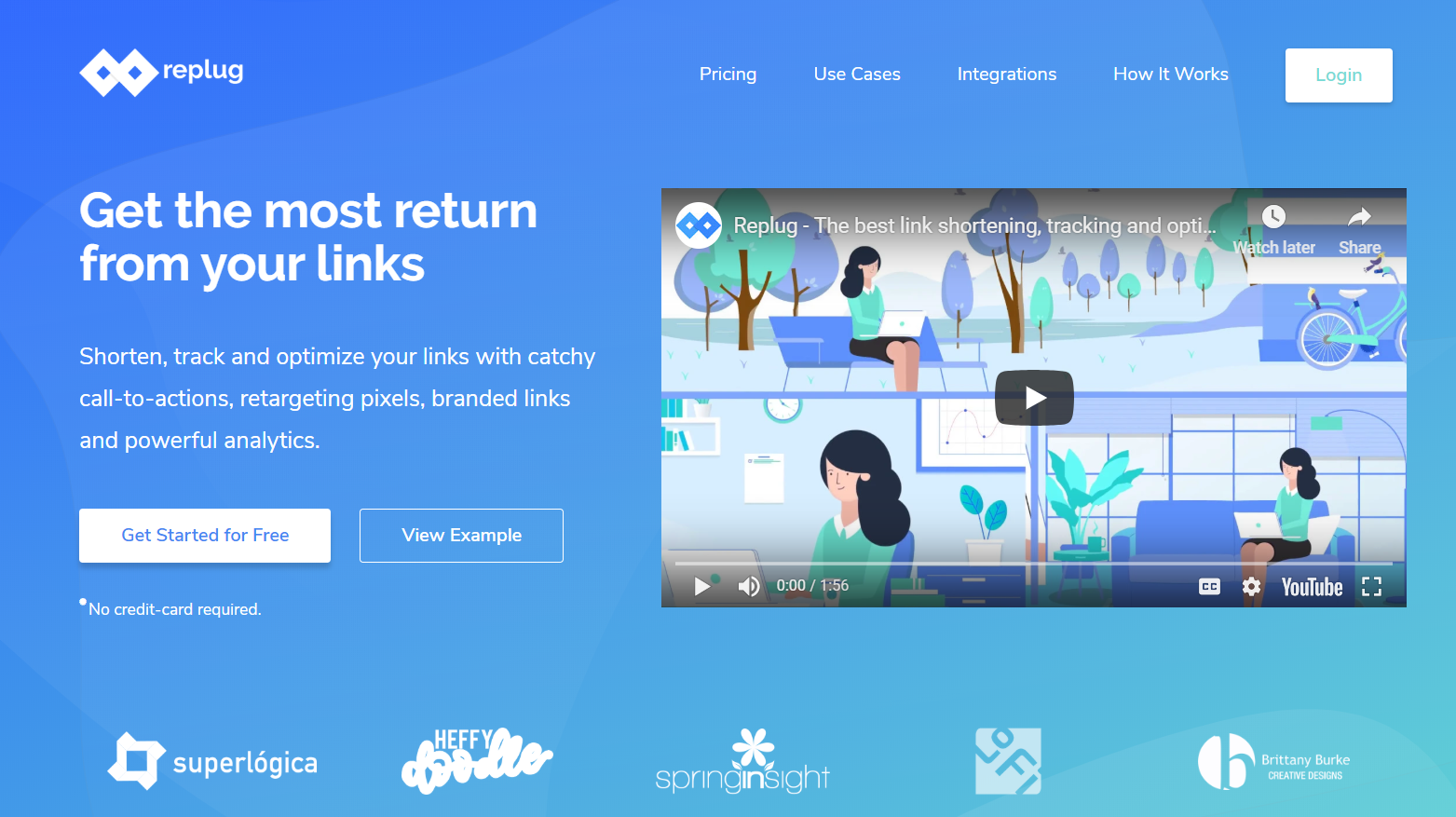 Replug.io Review- Get extra traffic and leads from your shared links