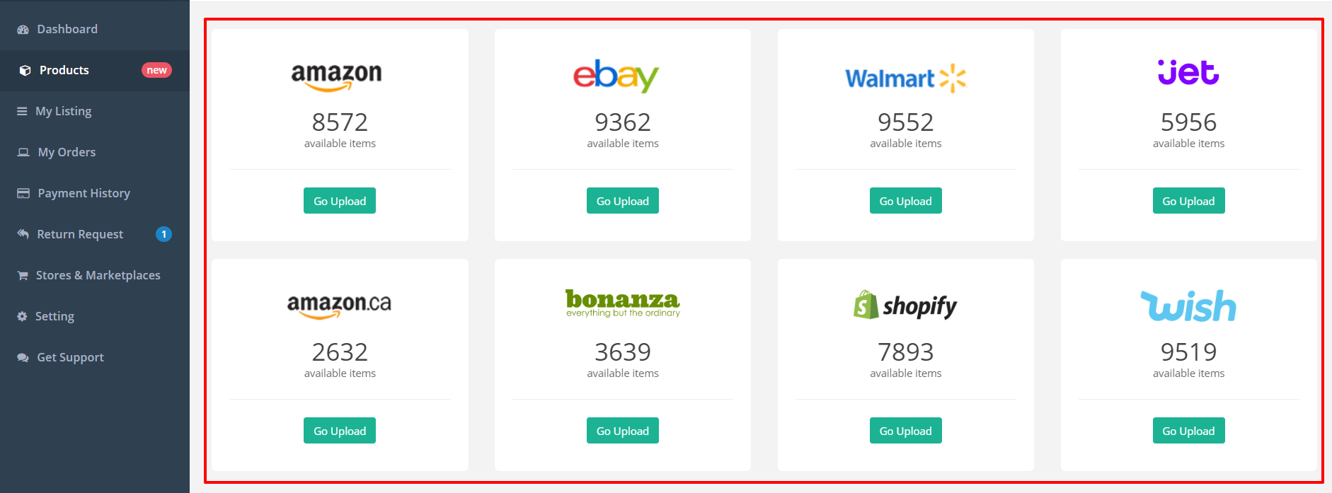 SellerBooster Review- Products Available