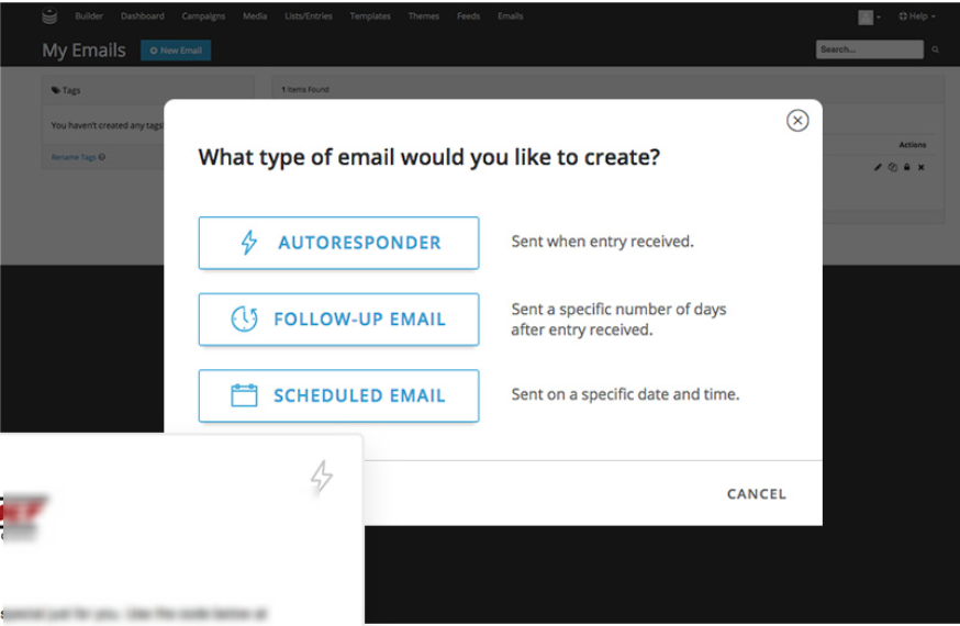 ShortStack Review- Automatic Emails