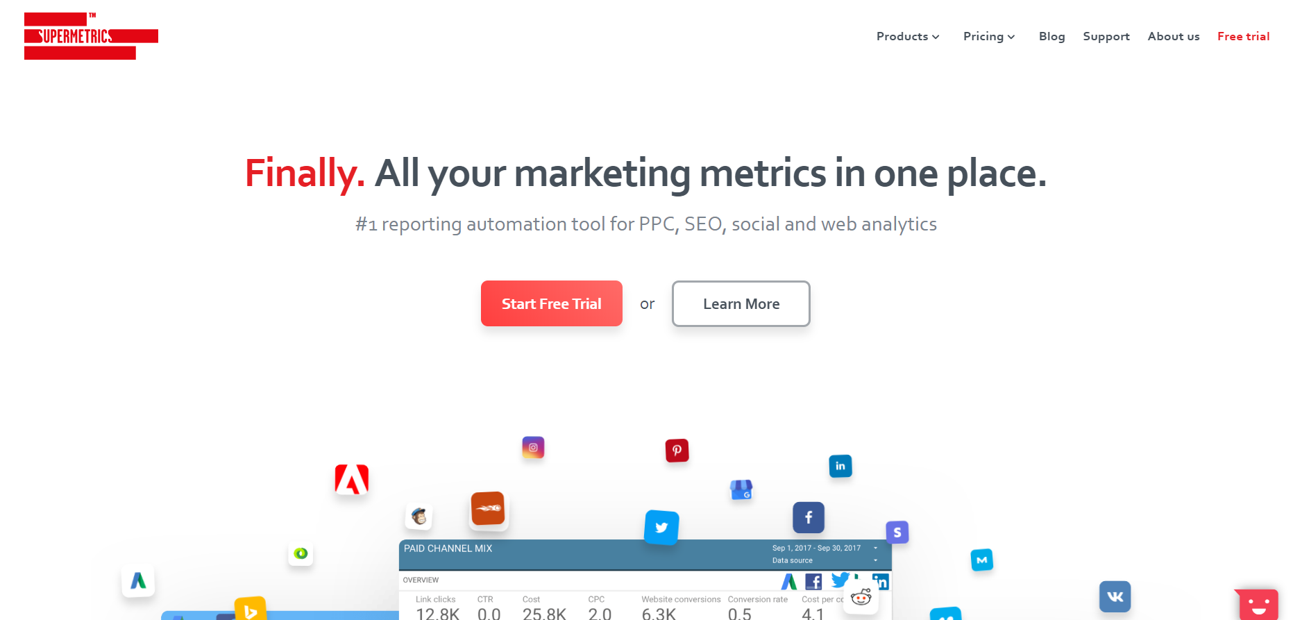 Supermetrics Review- Marketing Platform