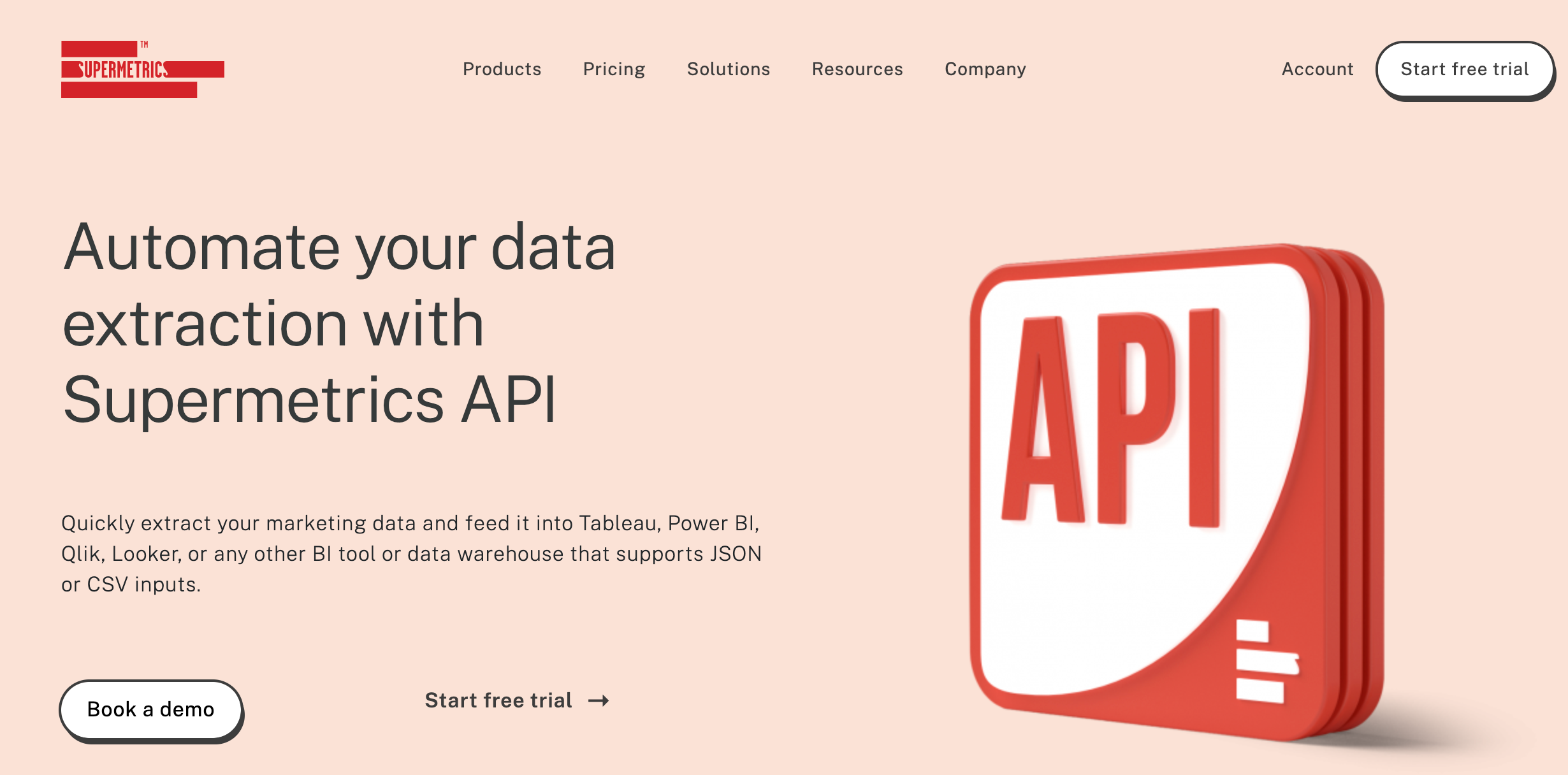 Supermtrics API