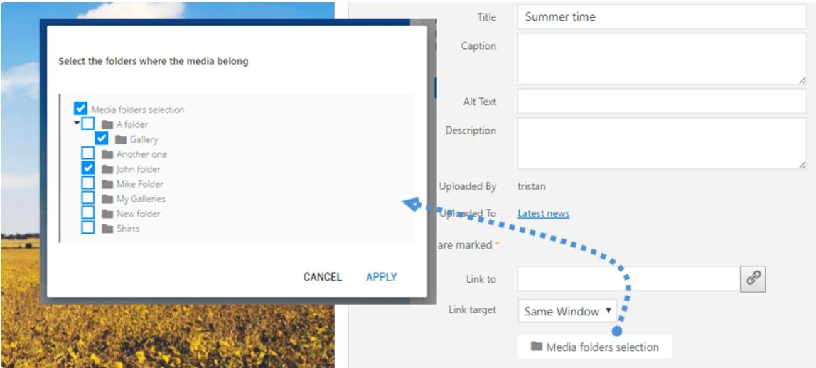 WP Media Folder Review – Watermarking