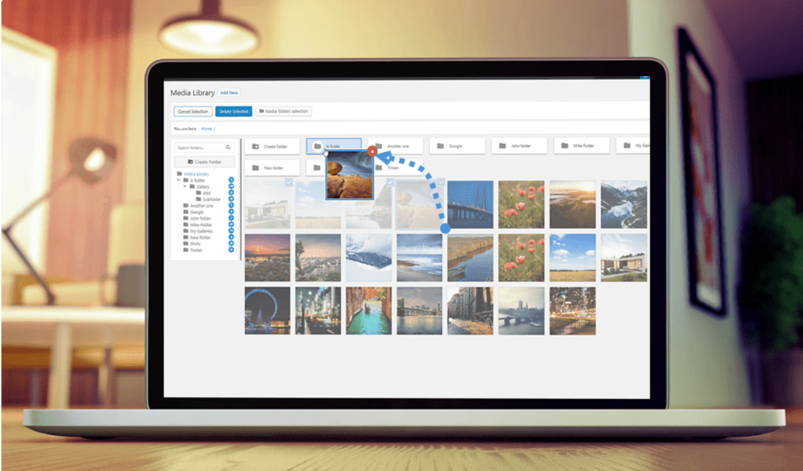WP Media Folder Review – WordPress Media Ordering & Filtering