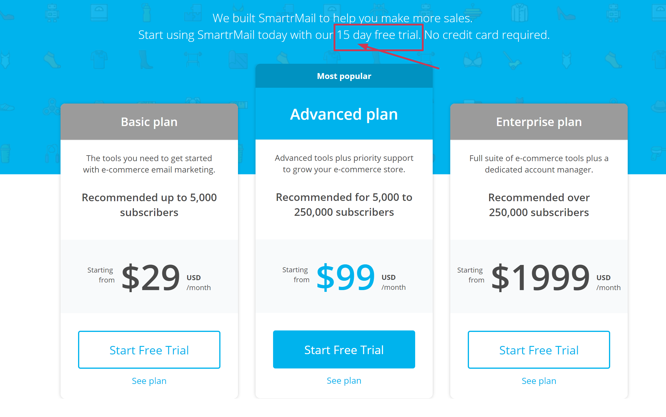 smartrmail discount coupon free trial