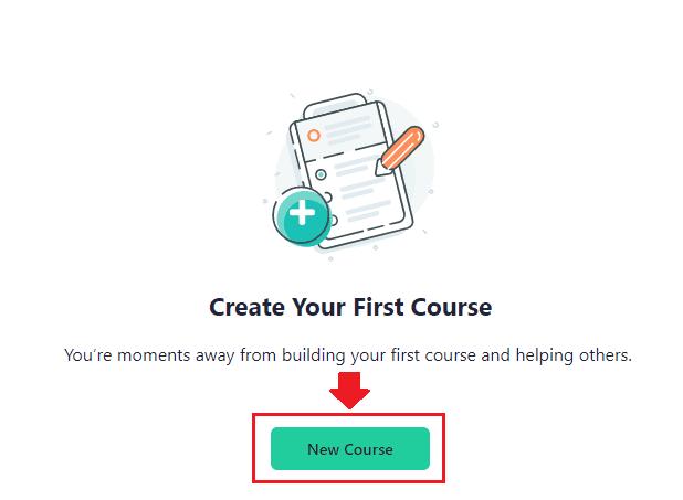 teachable make new courses