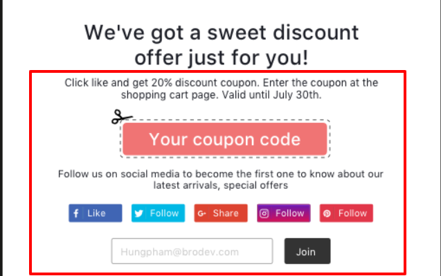 Beeketing App Review- Best Coupon Pop Up to Increase Sales
