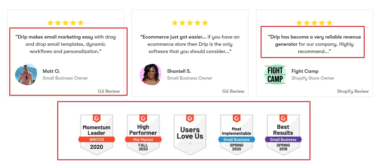 DRIP email marketing tool