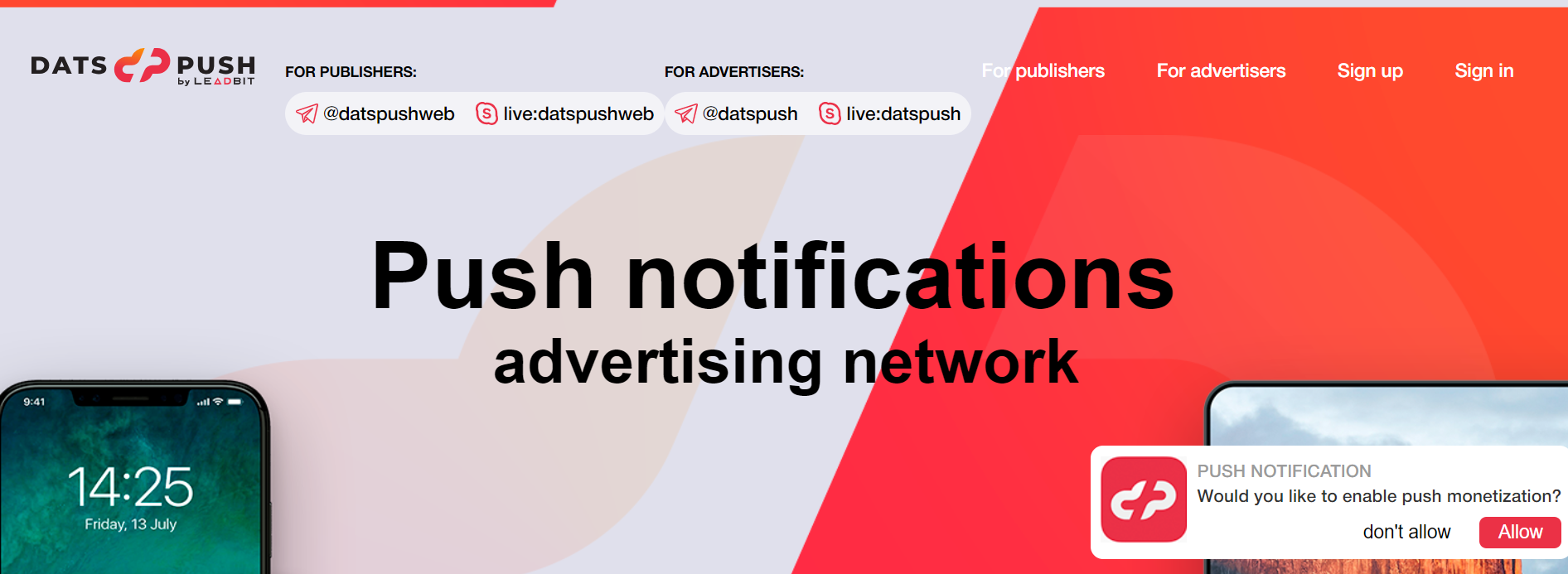 DatsPush Review- A Relaible Push Ads Network