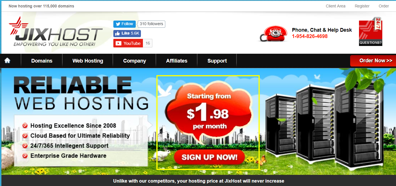 JixHost Review- Reliable Web Hosting Provider