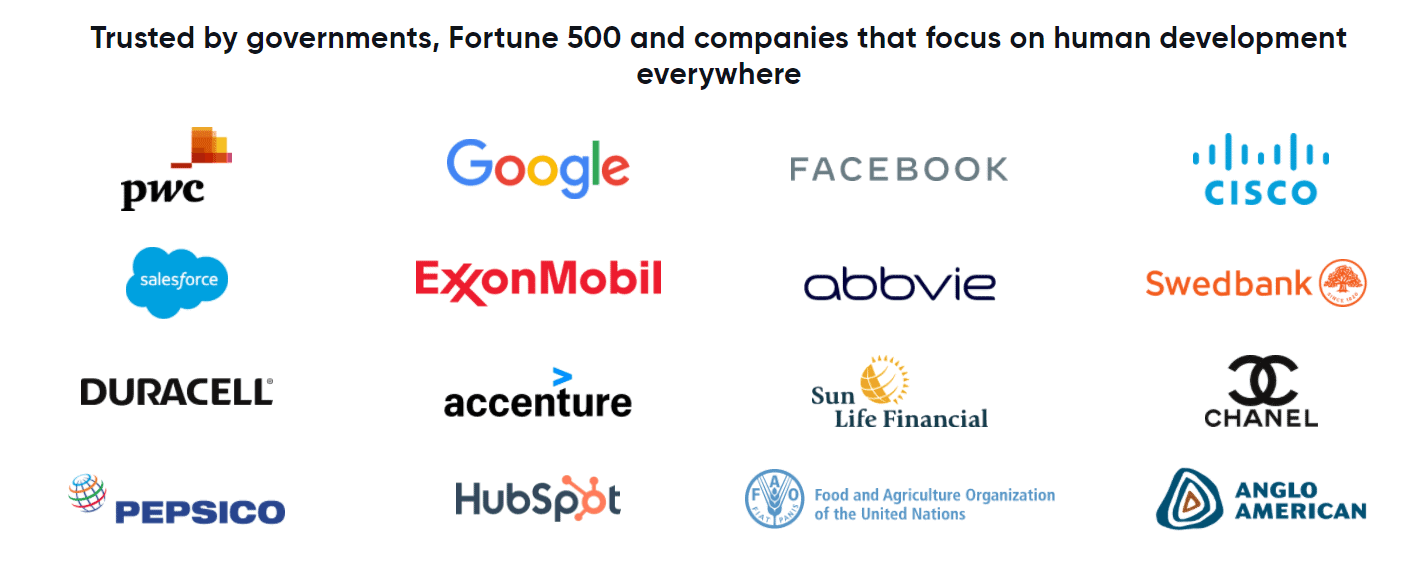 Mindvalley Trusted By Big Companies