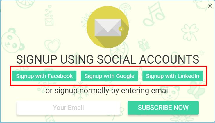 Optingun Review- Social Optin Live Demo
