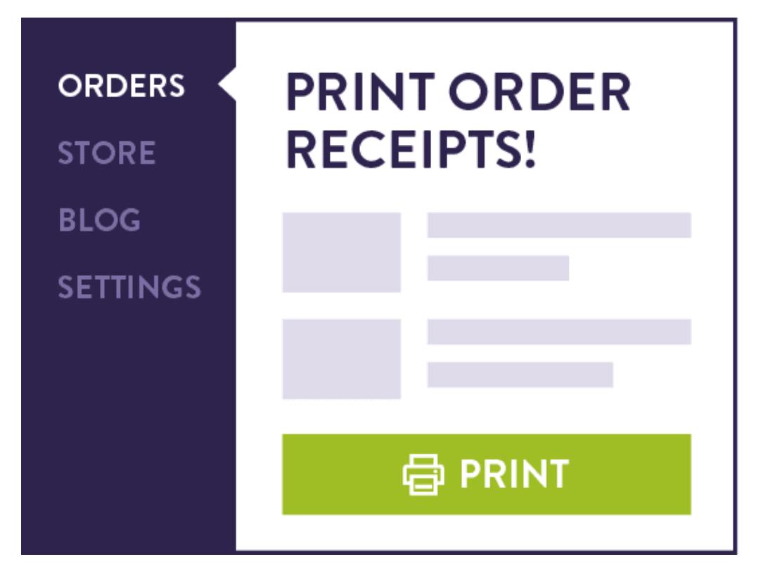 Strikingly print order