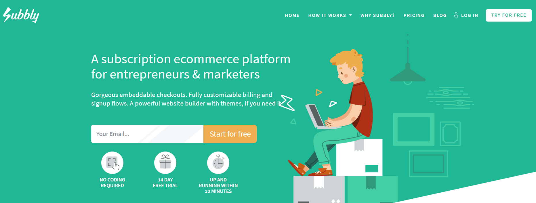 Subbly Review- The Subscription Ecommerce Platform